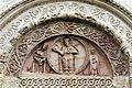 Lunette of the main portal - San Rufino - Assisi 2016.jpg