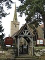 Lych Gate, Holy Trinity Church Belbroughton, Worcs - geograph.org.uk - 1726803.jpg