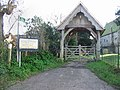 Lych gate for St Mary the Virgin Church, Ripple - geograph.org.uk - 328188.jpg