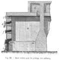 Métallurgie du zinc - Case voûtée pour le grillage des sulfures (p. 142).png