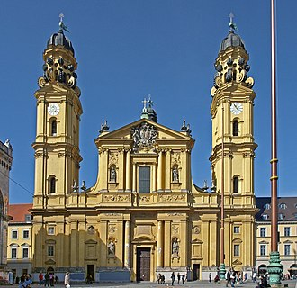 Theatine Church, Munich - Image: München Theatinerkirche a