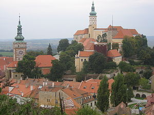 Roman Catholic Diocese of Brno - Mikulov – seat of the collegiate chapter since the 17th century