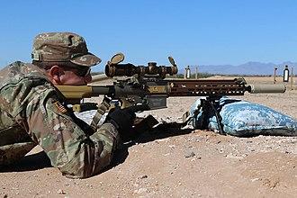 Heckler & Koch HK417 - M110A1 Squad Designated Marksman Rifle (SDMR)