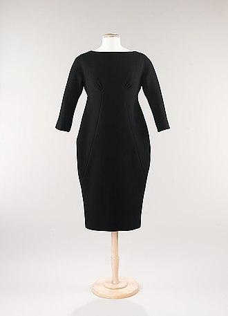 Sheath dress - Image: MET Museum Sheath Dress by James Galanos