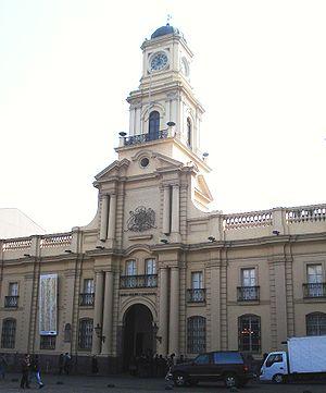 Real Audiencia of Santiago - Image: MHN Chile