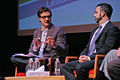 MSNBC host Chris Hayes with Chicago DOT commish Gabe Klein at NACTO 2012 NYC.jpg