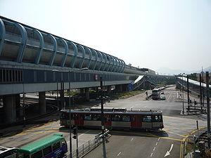 Ping Shan - Transport in Ping Shan around Tin Shui Wai Station.