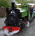 Mad Bess arrives at Ruislip Lido Station cropped.jpg