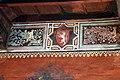Maestro lombardo, puttini tra alberi con cartigli, finti drappeggi e stemmi araldici, 1423, 19.jpg