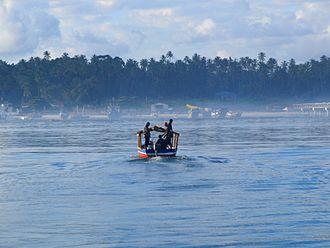 Mafia Island - Image: Mafia Island Harbour in Tanzania