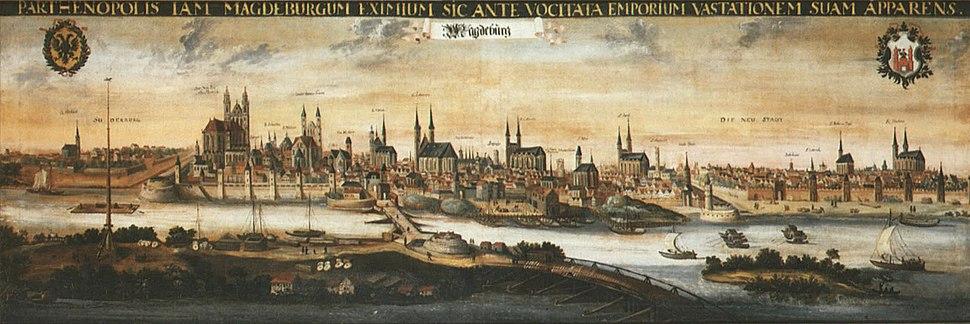 Magdeburg um 1600