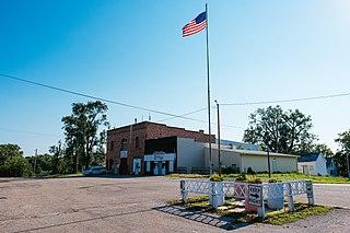 Magnolia, Iowa City in Iowa, United States