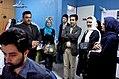 Mahe Asal casts visits FNA office - 7 April 2009 09.jpg