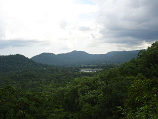 Maikal Hills mountain in India