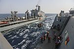 Mail call, U.S. Marines and Sailors sort packages 150815-M-TJ275-062.jpg