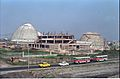 Main Auditorium And Dynamotion Hall With Space Odyssey Under Construction - Science City - Eastern Metropolitan Bypass - Calcutta 1996-02-21 986.JPG