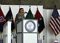 Major Gen. Curtis Scaparrotti, Combined Joint Task Force 82 commander, speaks during a Veterans Day Ceremony Nov. 11. The ceremony was held in honor of the men and women serve around the world DVIDS222446.jpg