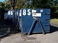 Malešice, Strnadova - Vydrova, kontejner na bioodpad.jpg