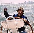 Man in San Francisco Bay.JPG