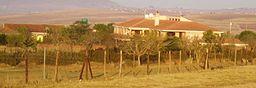 Nelson Mandelas boligejendomme i Qunu.