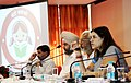 Maneka Sanjay Gandhi addressing at the Regional Consultation of District CollectorsDeputy Commissioners of Northern states on 'BETI BACHAO- BEDI PADHAO', in Chandigarh on October 31, 2014.jpg