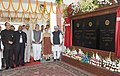 Manmohan Singh dedicated the newly constructed railway line between Banihal (Jammu region)-Qazigund (Kashmir valley) section to the Nation, in Jammu and Kashmir. The Chairperson, National Advisory Council.jpg