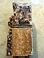 Mantes-la-Jolie (78), collégiale Notre-Dame, portail des Échevins, fragment du piédroit gauche, vers 1320, déposé vers 1877 par Alphonse Durand.JPG