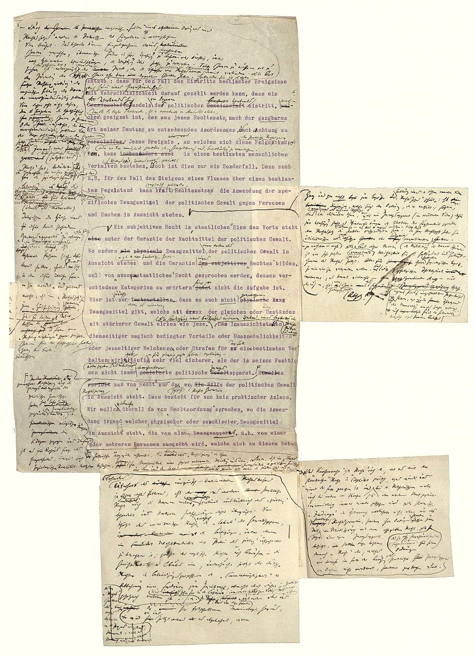 Manuskript max weber rechtssoziologie