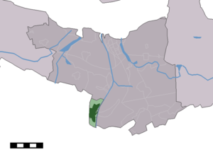 Sas van Gent - Image: Map NL Terneuzen Sas van Gent