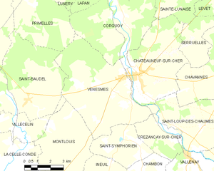 Map commune FR insee code 18273.png