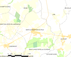 Map commune FR insee code 49296.png
