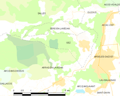 Map commune FR insee code 65202.png