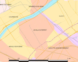 Levallois-Perret – Mappa