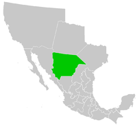 Map of Chihuahua 1824