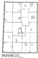Map of Darke County Ohio Highlighting Gordon Village.png