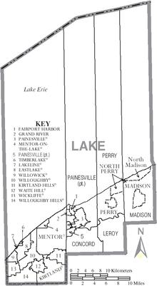 Lake County Ohio  Wikipedia