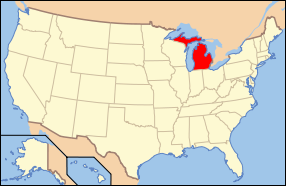 Map of USA MI.svg