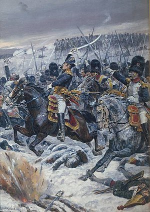 Michel Ney - Marshal Ney at the Battle of Eylau