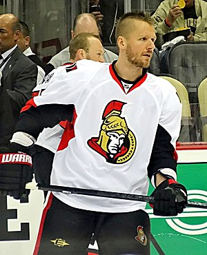 Marc Methot - With the Senators during the 2013 playoffs.