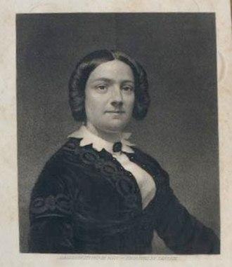 Margaret Crittendon Douglass - Photo of Margaret Crittendon Douglass, author of Education Laws of Virginia: The Personal Narrative of Mrs. Margaret Douglass