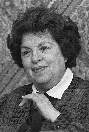 Maria de Lourdes Pintasilgo - Image: Maria de Lourdes Pintasilgo (1986) (cropped)