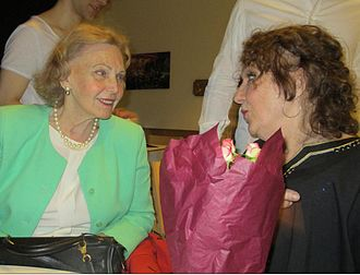Marianne Bernadotte - Bernadotte meets up in 2015 with her old colleague Gunvor Pontén from Stockholm's Royal Dramatic Theatre