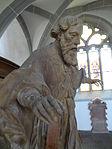 Marienstiftskirche Lich Kanzel Bernhard von Clairvaux 06.JPG