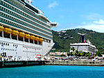 Mariner of the Seas and Carnival Triumph (2677439177).jpg