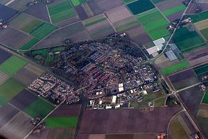 Marknesse - Marknesse from above