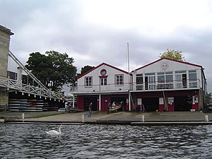 English: Marlow Rowing Club Boat House