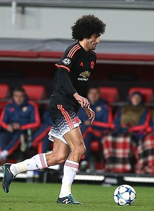 Marouane Fellaini - Fellaini during the 2015–16 season