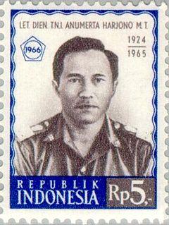 Mas Tirtodarmo Haryono Indonesian general