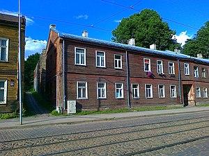 Maskavas Forštate - Wooden buildings