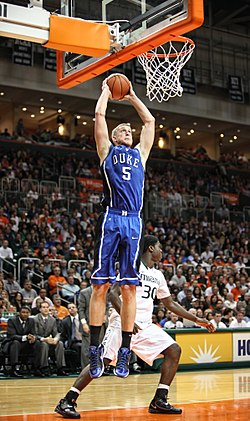 Mason Plumlee 2011 - FEB 13 - Miami Hurricanes at Duke Blue Devils.jpg